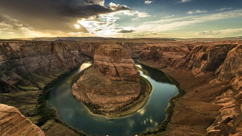 Horseshoe Bend mit Colorado River © Diamir