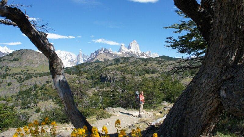 Blick auf den Fitz Roy und Cerro Torre © Diamir