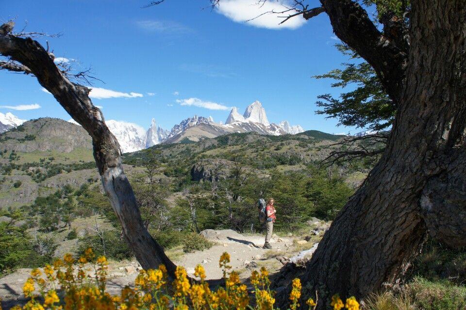 Blick auf den Fitz Roy und Cerro Torre