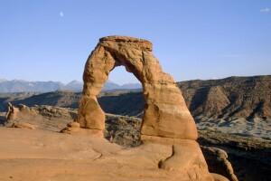 Delicate Arch, das Wahrzeichen Uthas im Arches NP