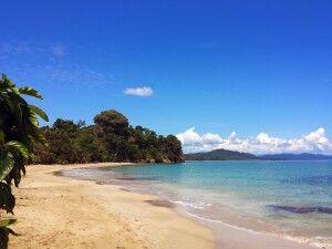 Strandidylle im Cahuita NP, Costa Rica