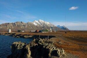 Die Isfjord Radio-Station