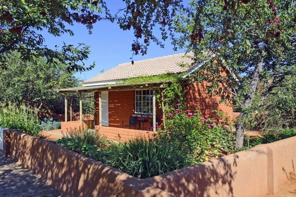 Wohnhäuschen in der Damara Mopane Lodge