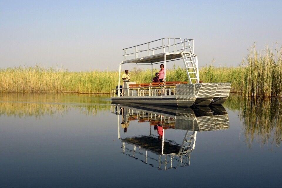 Bootsfahrt auf dem Fluss