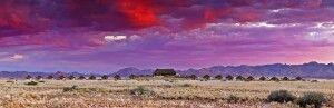 Panorama-Aufnahme, Desert Homestead