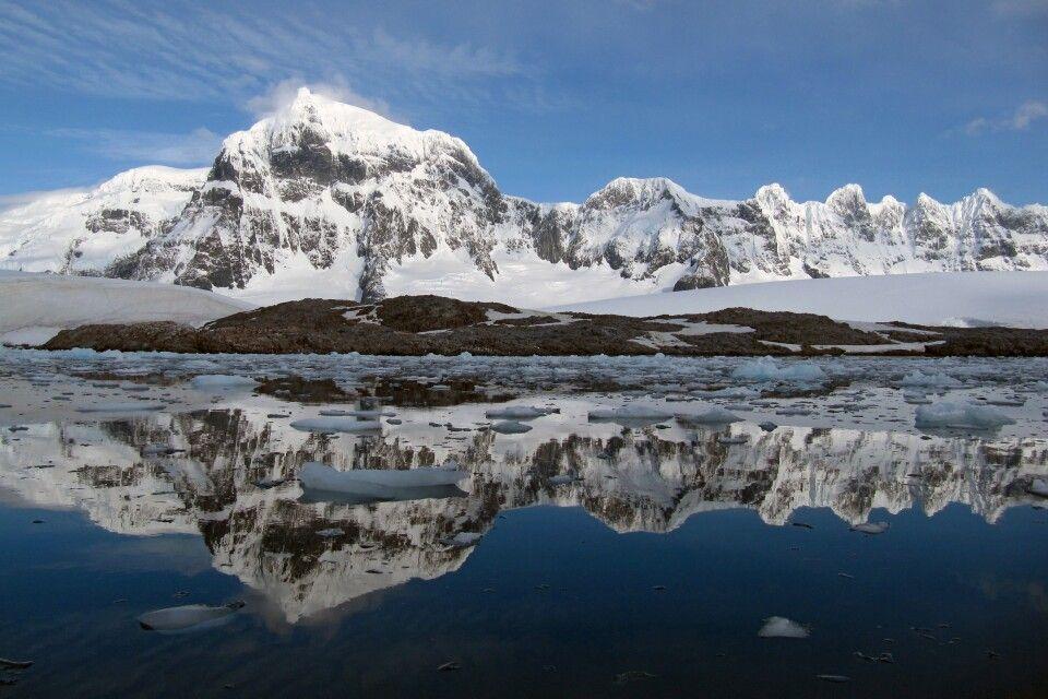 Antarktische Kulisse