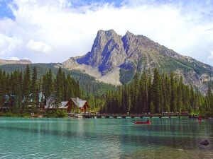 Emerald Lake im Yoho NP