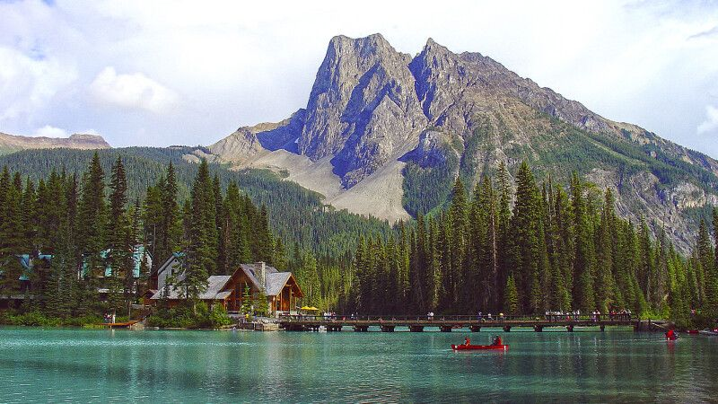 Emerald Lake im Yoho NP © Diamir