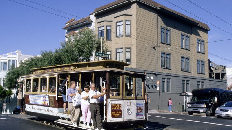 Die berühmte Cable Car in San Francisco © Diamir
