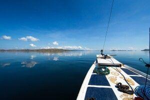 Auf dem Boot im Komodo NP