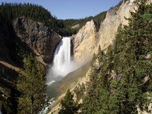 Wasserfall im Yellowstone NP