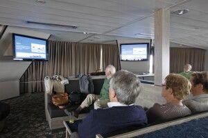 Lounge und Vortragssaal der Plancius