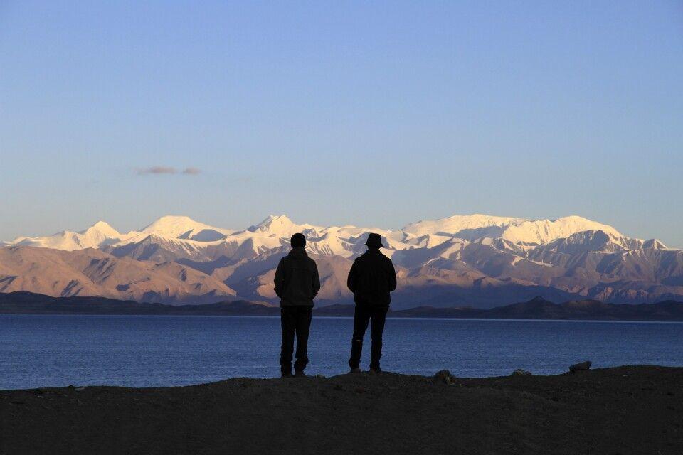 Sonnenaufgang am Karakul See