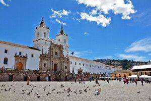 Platz in Quito