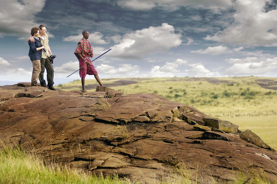 Zu Fuß auf Safari