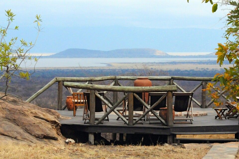 Maweninga Camp Aussicht