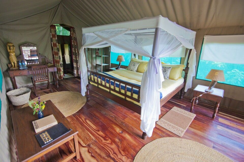 Gombe Forest Lodge Zimmer