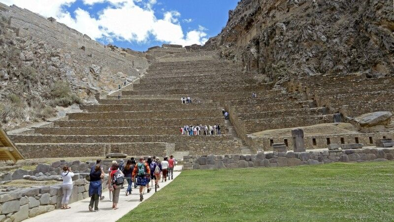 Ruinenanlage von Ollantaytambo © Diamir