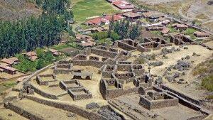 Ruinen von Pisac im Heiligen Tal