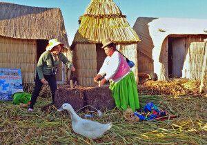 Zu Besuch bei den Uros-Indianern