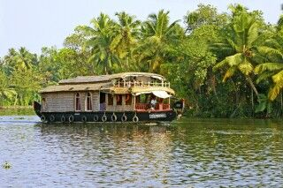 Boot in den Backwaters Alleppey