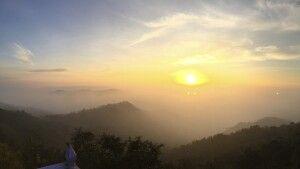 Blick vom Golden Rock, oder auch Kyaiktiyo genannt