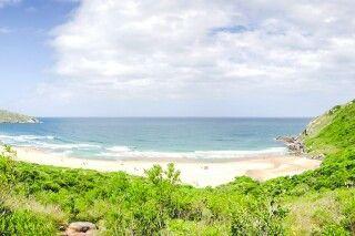 Strand Praia do Leste nahe Florianopolis
