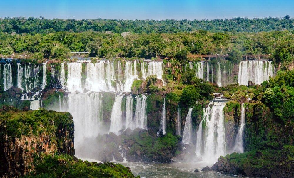 Iguazu-Wasserfälle