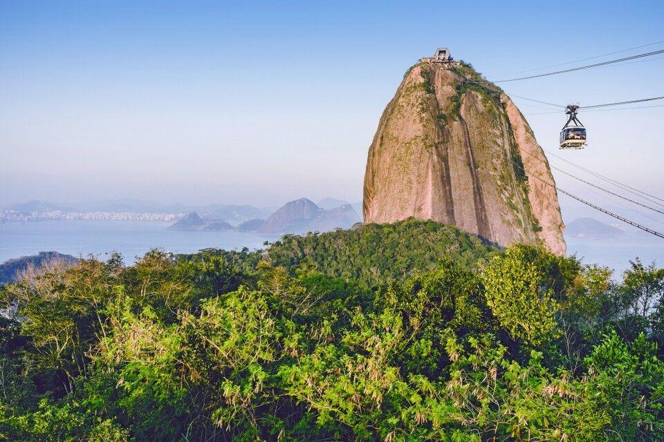 Seilbahn und Zuckerhut in Rio de Janeiro