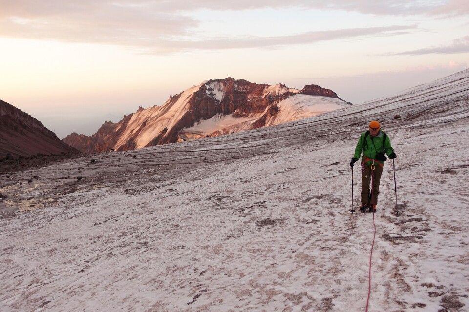 Aufstieg zum Kasbek