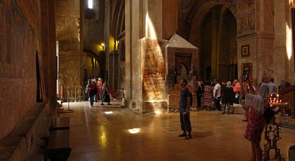 in der Swetizchoveli-Kathedrale