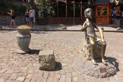 Tamada-Skulptur in Tiflis