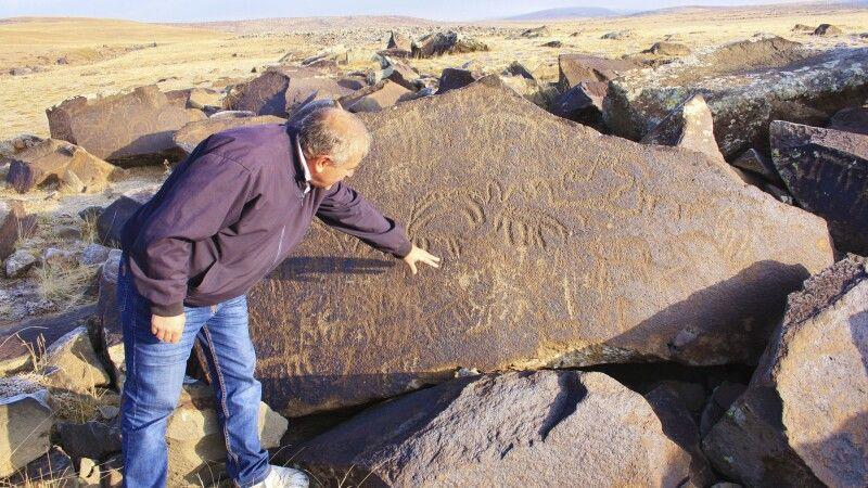 Petroglyphenfeld im Armenischen Hochland © Diamir