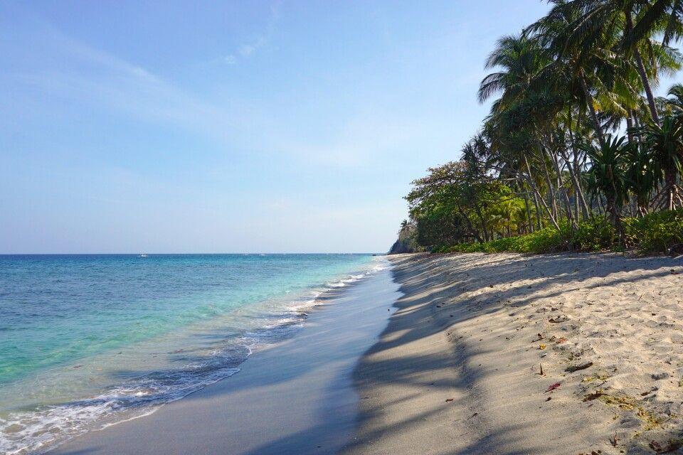 Strand von Sengiggi auf Lombok