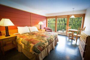 Zimmerbeispiel in der Spirit Bear Lodge