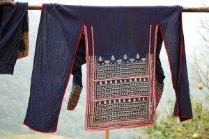 Tracht der schwarzen Hmong
