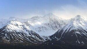 Beeindruckende Bergkulisse