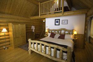 Die Grizzly Cabin der Tweedsmuir-Park-Lodge