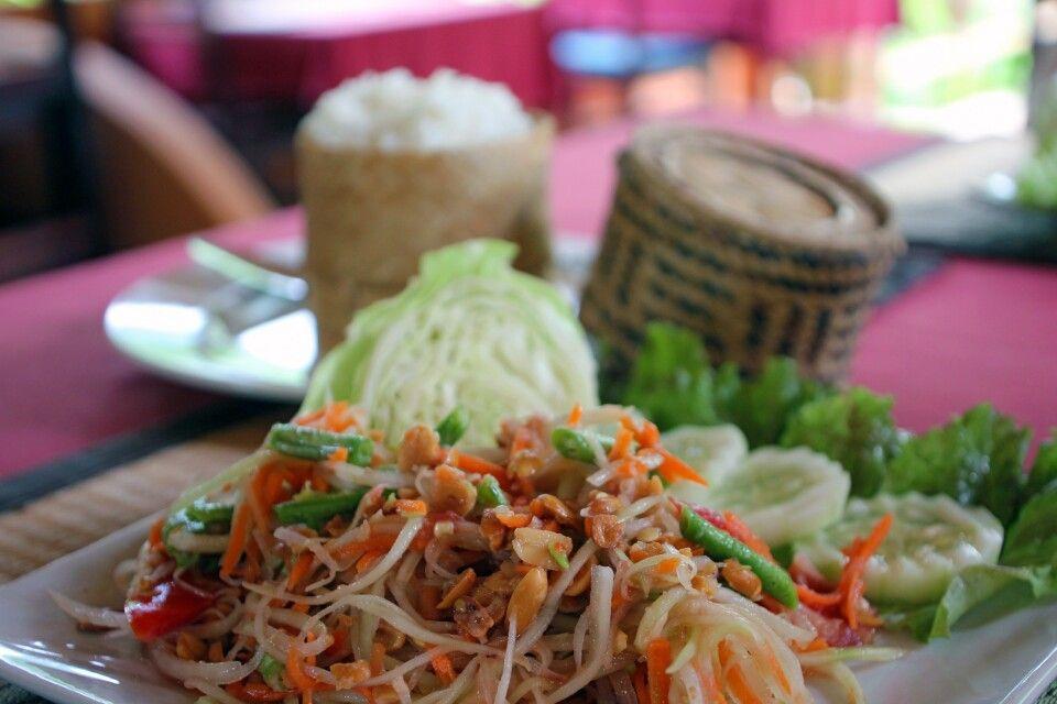 Tham Mak Hong - grüner Papayasalat