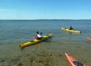 Kajaktour in der Hudson Bay