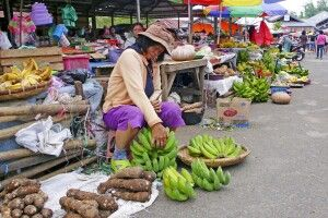 Markt in Makassar
