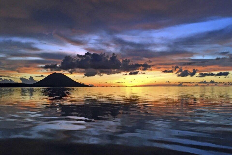Sonnenuntergang im Bunaken NP