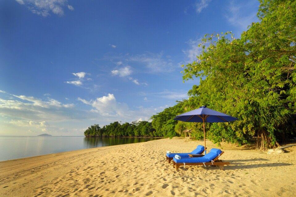 Strand auf Siladen