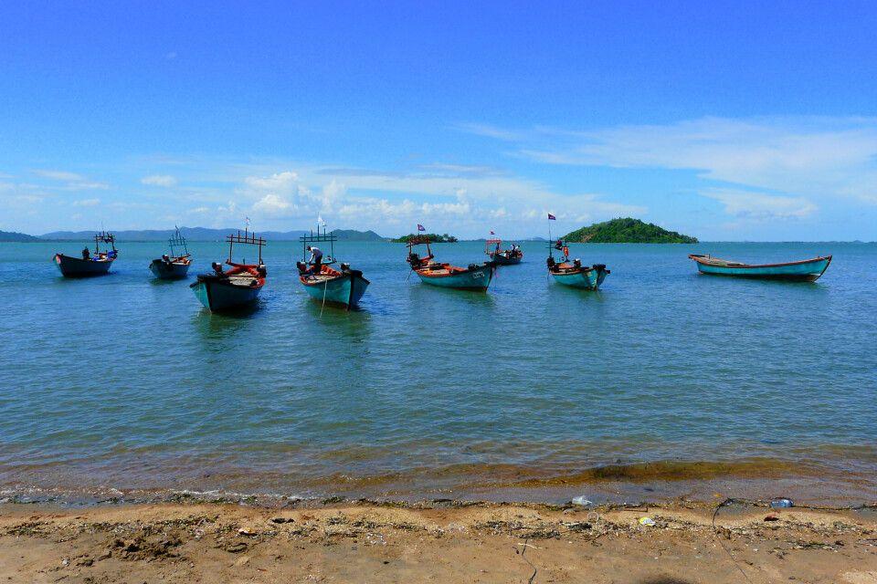 Am Strand von Koh Tonsay vor Kep