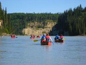Gemütlich und lautlos unterwegs im Kanu