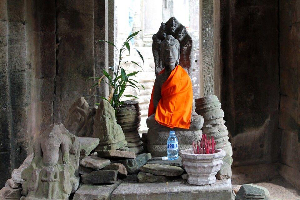 Ein Schrein im Tempel von Bayon