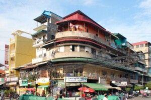 In der Innenstadt von Phnom Penh