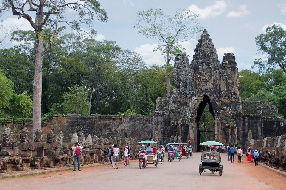 Eingangstor von Angkor Thom