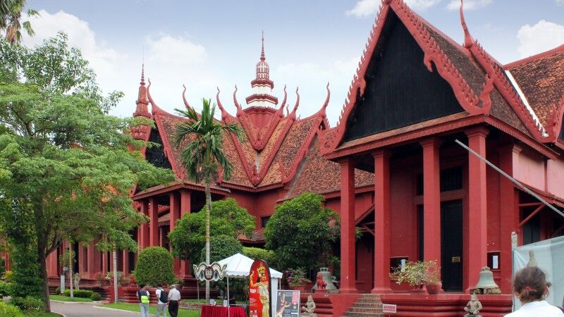 Nationalmuseum in Phnom Penh © Diamir