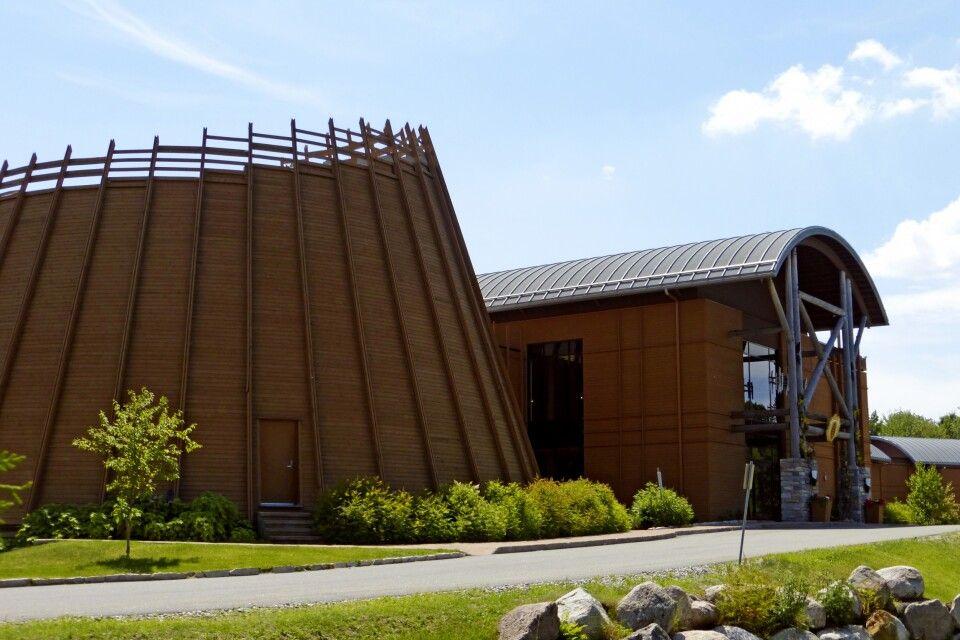 Unterkunft mit traditionellem Langhaus